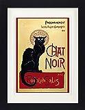 1art1 Theophile Alexandre Steinlen - Chat Noir Gerahmtes