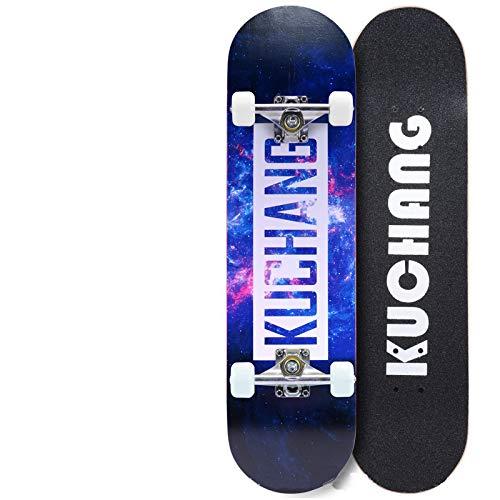Skateboard Vier Fahrbare Jugendlandstraße Verdoppeln Herauf Skateboard-Bürsten-Straßen-erwachsene Kinder-Roller