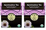 Marshmallow Tea - Organic Herbs (2 Pack) - 36 Individual Bleach Free Herbal Tea Bags