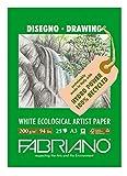 Fabriano 22529742Block, FSC 100% Riciclata, Bianco, 29,7x 42x 0,5cm