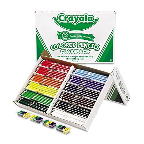 CYO688024 - Crayola Classpack Colored Pencil