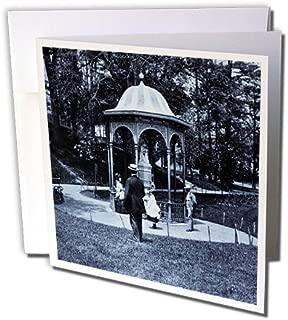 3dRose Fairmount Park Philadelphia 1902 Selenium - Greeting Cards, 6 x 6 inches, set of 12 (gc_16115_2)