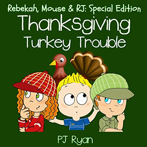 Thanksgiving Turkey Trouble audiobook cover art