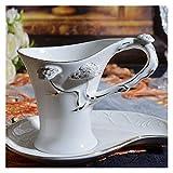 JSJJATQ Tazzine caffè Tazza da caffè in Porcellana in gres Porcellana in Oro con piattino, Porcellana Elegante Tazza da caffè Tazza da tè pomeriggio Tazze da caffè Tazze da tè Nero Tazze da tè Nero