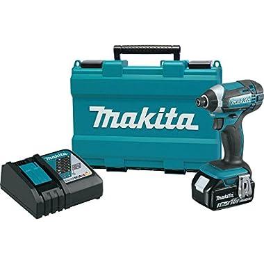 Makita XDT111 3.0 Ah 18V LXT Lithium-Ion Cordless Impact Driver Kit
