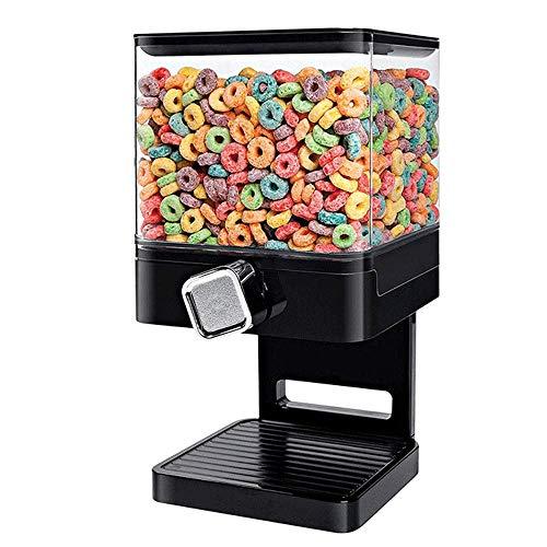AIKENR - Dispensador doble de cereales para arroz y café, frutos secos avena 3700 ml