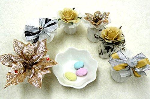 シュシュ〜chouchou〜のプチギフト 1個(ドラジェ3粒入り)【結婚式 二次会 パーティー クリスマス 花】