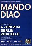 Mando Diao - Blue, Berlin 2014 » Konzertplakat/Premium