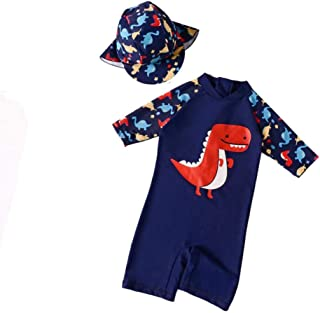Getupp 水着 子供 男の子 2-8歳 伸縮性 通気性 スイムウェア 入園 入学 紫外線カット 海辺 海水浴 プール 旅行 (ネービー,3t)