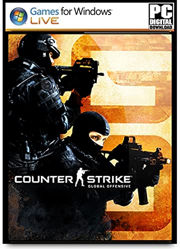 CS-GO Deluxe Edition PC Game Digital Download (No DVD/CD) – (Online Multiplayer)