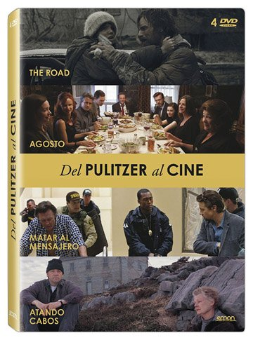 Pulitzer Prize Winners Movies Collection - 4-DVD Set ( On the Road / August: Osage County / Kill the Messenger / The Shipping News ) [ Spanische Import ]