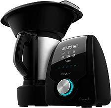 Cecotec Mambo Black - Robot de Cocina multifunción, pantalla digital,jarra de acero inoxidable de 3,3l, 10 velocidades