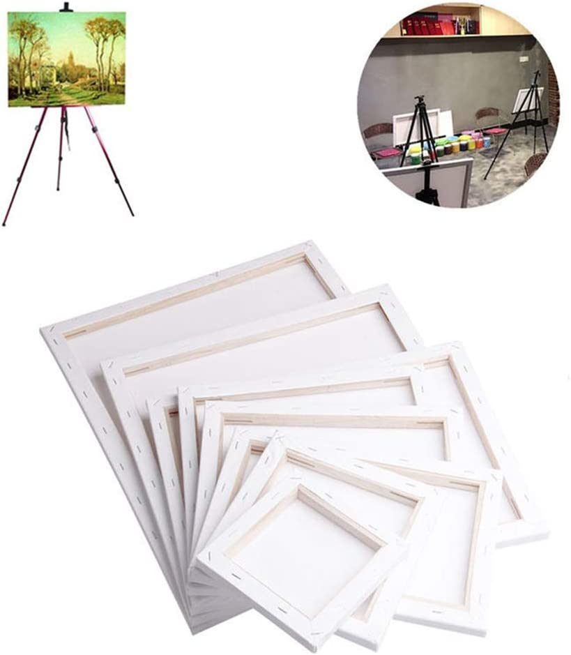 Bluelans Artist Don't miss the campaign Blank Canvas Max 72% OFF Frame P Oil Stretcher Water Acrylic
