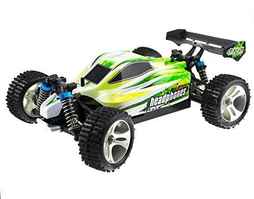 RC Auto kaufen Buggy Bild 2: efaso WL Toys A959-B Zusatzakku - schneller RC Buggy 70 km/h schnell, wendig, voll digital proportional - 2.4 GHz RC Auto mit Allradantrieb - Maßstab 1:18, hoher Fun Faktor*