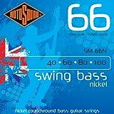 Rotosound 4-string nickel swing bass guitar stringssm66n 40-100