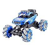 YYQIANG Control remoto de gran tamaño VEHÍCULO OFF-road Vehículo de cuatro ruedas trucos de escalada de alta velocidad con rollo de automóvil Racing Los juguetes para niños mayores de 3 años Aficiones
