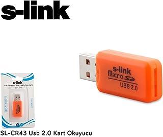 S-link SL-CR43 Usb 2.0 Kart Okuyucu