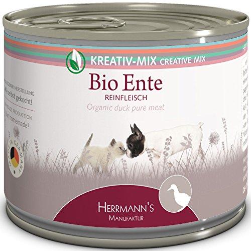 Herrmanns Bio Ente 100 Prozent, 12er Pack (12 x 200 g)