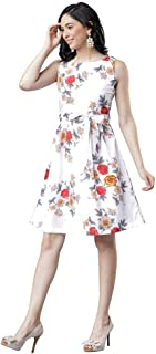 Happyfeb Girls' Knee Length Dress.