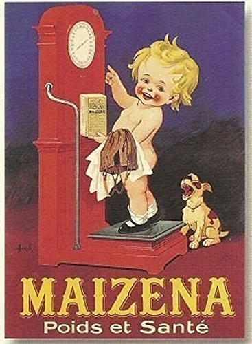 Rétro Plaque en métal 20 x 15 cm Pub Maizena pour Enseignants