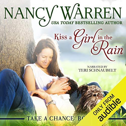 Kiss a Girl in the Rain audiobook cover art