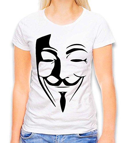 Anonimos Damen T-Shirt Weiss S