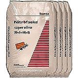Suinga ABONO Super Olivo 200 Kg Nitrofoska 20-5-10 + MG + S + Fe + Zn. El abono Complejo más eficaz, equilibrado y Completo para su Olivo.