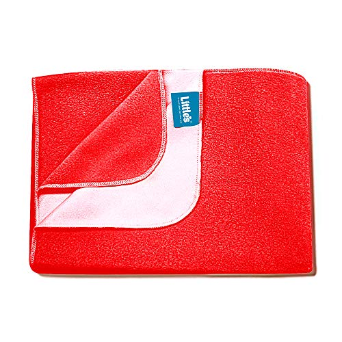 Little's Easy Dry Bed Protector - Small - Red