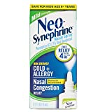 Neosynephrine Decongestant Nasal Spray for Cold & Sinus Relief, Mild Strength, 0.5 Fl Oz