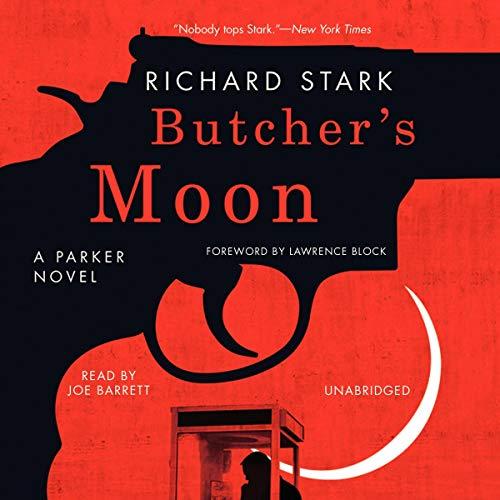 Butcher's Moon audiobook cover art