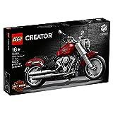 LEGO Creator - Harley Davidson Fat Boy, Maqueta para Montar Coleccionable de Moto del 30 Aniversario Harley Davidson, Recomendado a Partir de 16 años (10269)