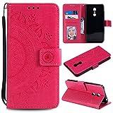 FEYYXI Leather Wallet Case for Xiaomi Redmi 5 Plus/Note 5