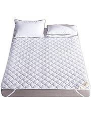 ベッドパッド 快適敷きパッド 抗菌防臭加工 ベッドシーツ 綿100% 敷きふとんカバー 吸湿速乾 丸洗いOK 防ダニ パッド 裏地がズレ防止素材使用 マットレス・パッド