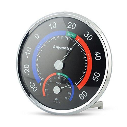 Termómetro - higrómetro Temperatura / Humedad de Control de Clima en PRECORN Marca negro