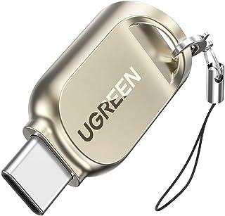 يوجرين-قارئ بطاقات USB-C إلى TF USB 3.0 / USB-C OTG محول بطاقة ذاكرة Micro SD ، Micro SDXC ، TF لسوني ، Google ، OnePlus ،...