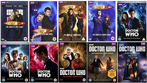 doctor who series 1 - 7