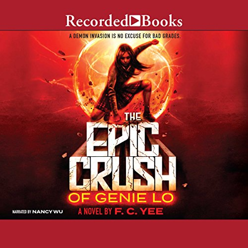 The Epic Crush of Genie Lo audiobook cover art