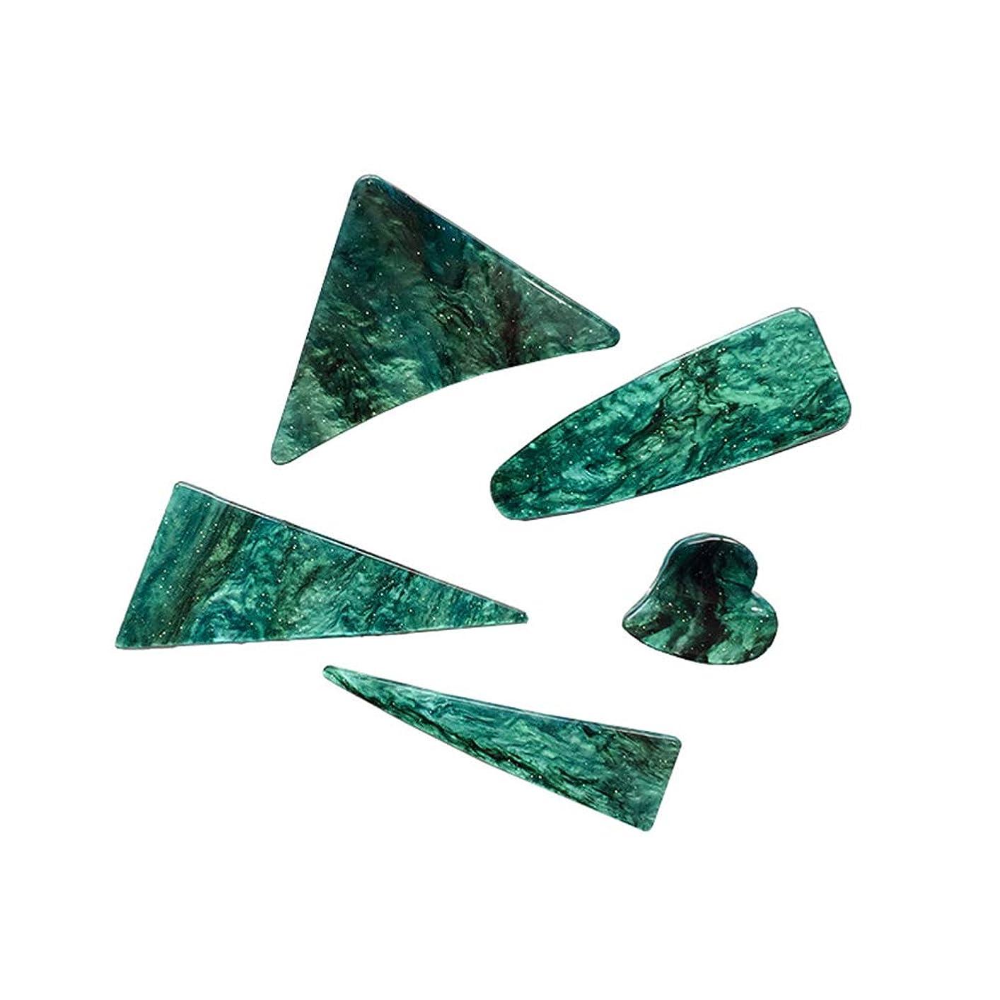 またはこどもの日儀式LURROSE 5ピースジョークリップヘアピンヘアクリップ三角形ヘアピンクランプバレットスタイリングヘアアクセサリー