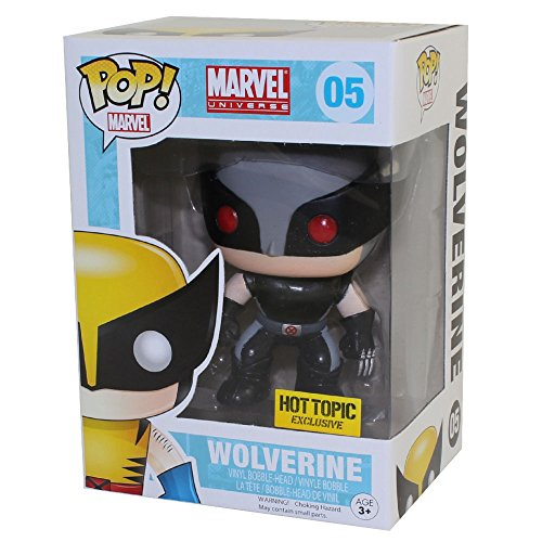 Funko Marvel POP! Wolverine Xforce Costume Exclusive Variant by Funko