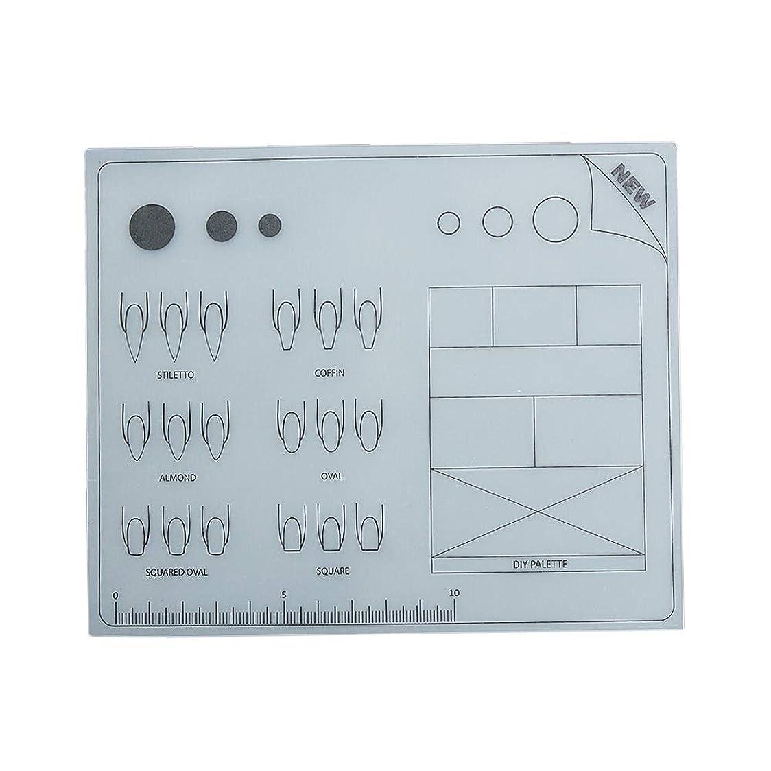 世紀四ダーツDecdeal ネイルアートテーブルマット 折り畳み式パッド マニキュアクッション ミニ シリコーン ウォッシャブル ひじかけ マニキュアツール