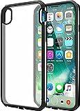 ITSKINS Carcasa rígida para iPhone X Transparente AU Contour Negro