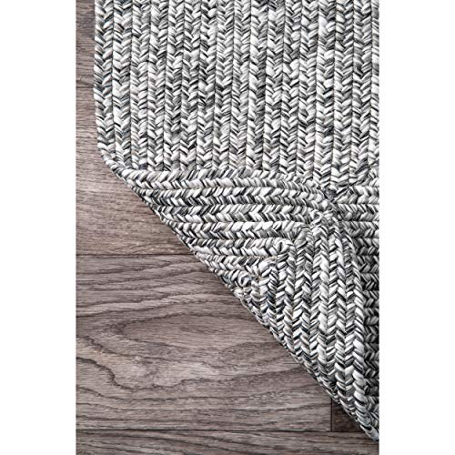 nuLOOM Lefebvre Braided Indoor/Outdoor Runner Rug, 2' 6