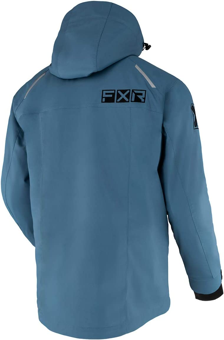 FXR Mens Ridge Jacket 2021 Steel//Black - X-Large