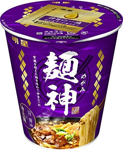 明星 麺神カップ 神太麺×旨 醤油 94g