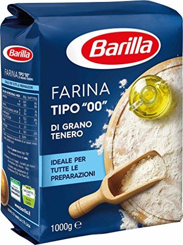Barilla Farina Grano Tenero Generica, Pacco da 1kg
