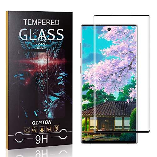 GIMTON Displayschutzfolie für Galaxy Note 10 Plus, 99% Transparenz Blasenfrei Schutzfilm aus Gehärtetem Glas für Samsung Galaxy Note 10 Plus, 9H Härte, Anti Kratzen, 1 Stück