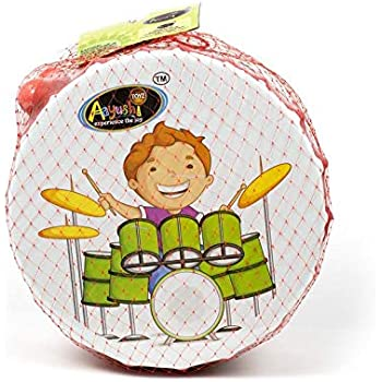 EL FIGO Merchandise Plastic Drums with 2 Strikers for Babies and Kids
