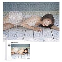 ジグソーパズル賀喜遥香、木質、成層なし、自家製デコレーション、すべての年齢層に適しています(300 PCS)