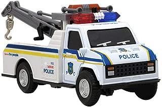 santa police car inflatable