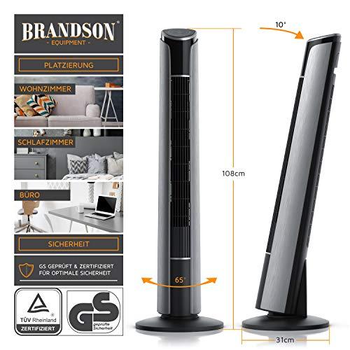 Brandson - Turmventilator mit Fernbedienung